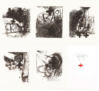Jim Dine, 'CAR CRASH I-V AND END OF THE CRASH (MIRKO 1-6)', 1960