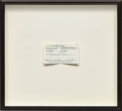 Robert Gober, 'Urology Appointment', 2007