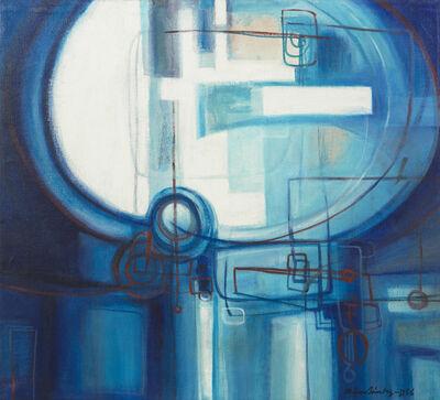 Zilia Sánchez, 'Azul azul (Blue Blue)', 1956