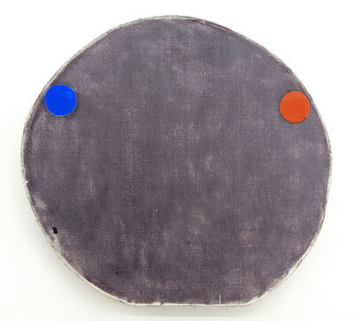 Otis Jones, 'Blue and Red Oxide on Purple', 2019