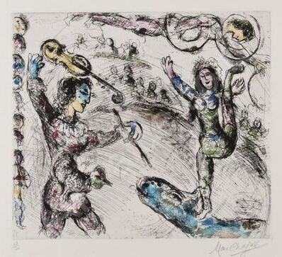 Marc Chagall, 'Acrobate et Violiniste', 1968
