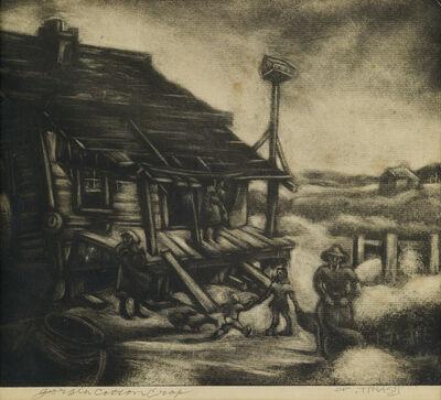 Dox Thrash, 'Georgia Cotton Crop.', circa 1944-1945