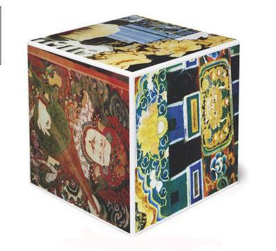 Robert Rauschenberg, 'Tibetan Keys (Cube)', 1986