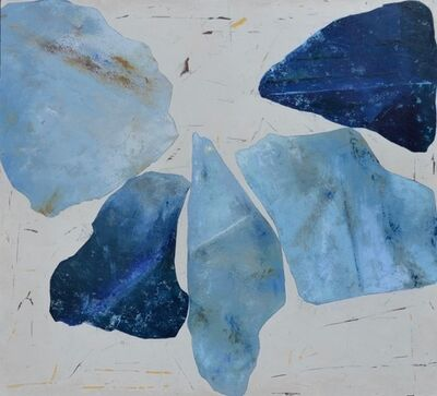 Richard Nott, 'Blue tumble', 2020