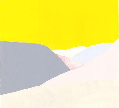 Hanne Borchgrevink, 'Yellow Sky', 2019