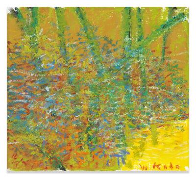 Wolf Kahn, 'Yellow Corner', 2019