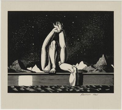 Rockwell Kent, 'Starlight', 1930