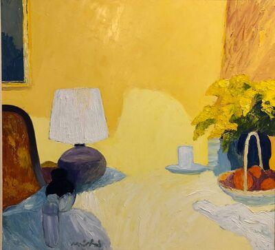 Roger Muhl, 'La table soir', 1989