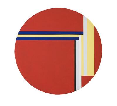 Ilya Bolotowsky, 'Red Tondo', 1977