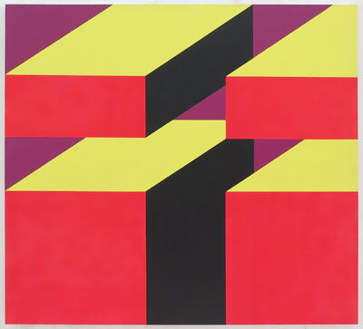 Miriam Schapiro, 'Rosarita's Blocks', 1968
