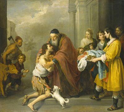 Bartolomé Esteban Murillo, 'The Return of the Prodigal Son', 1667/1670