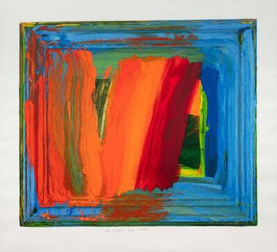Howard Hodgkin, 'Bamboo', 2000
