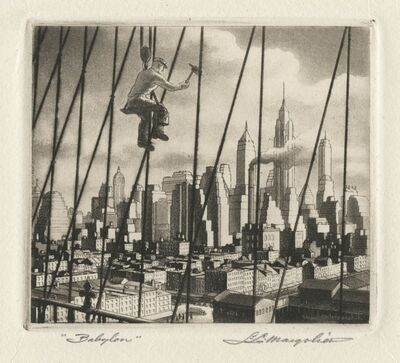 Samuel L. Margolies, 'Bridge to Babylon', 1949