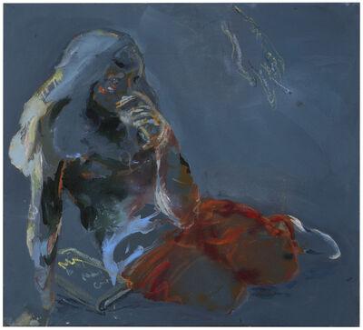 Anna Tuori, 'Calming Down (in Dark Blue-Grey)', 2018