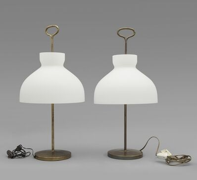 Ignazio Gardella, 'A pair of 'Arenzano' table lamps', 1956