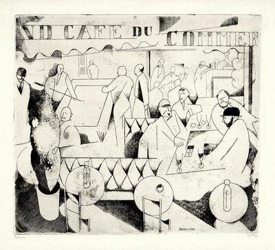 Jean-Emile Laboureur, 'Le Cafe du Commerce', 1913