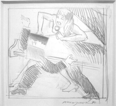 Allen Jones, 'Study for Night Fever', 1990