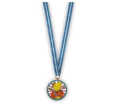 Grayson Perry, 'Teddy Bear Necklace Medal', 2018