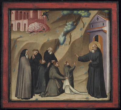 Giovanni del Biondo, 'St. Benedict Restores Life to a Young Monk', Late 14th century