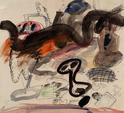 Walter Stöhrer, '2. Teil Mannequin Genesis', 1964