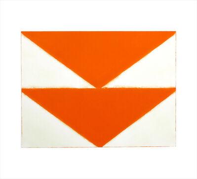 Betty Merken, 'Double Wedge, Orange. #03-19-03', 2019