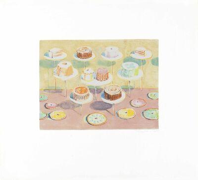Wayne Thiebaud, 'Untitled (Cake Window)', 1991