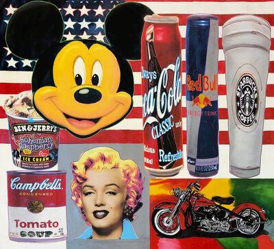 Steve Kaufman, 'USA ICONS', 1995-2005