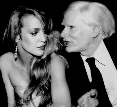 Rose Hartman, 'Jerry Hall and Andy Warhol at Studio 54, 1977', 1977