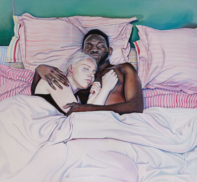 Ishbel Myerscough, 'Lily and Quaye', 2019