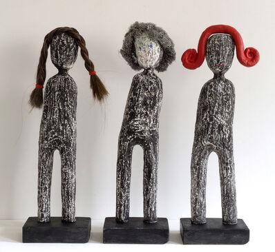 Melissa Stern, 'Wig Shop (Trio)', 2018