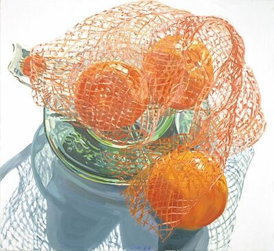 Janet Fish, 'Bag of Tangerines', 2000