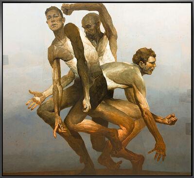 Denis Sarazhin, 'Dancing Men No. 6', 2021