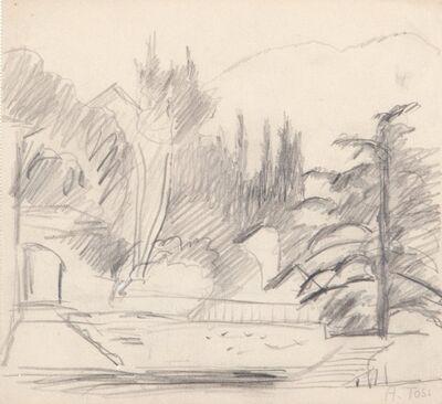 Arturo Tosi, 'Paesaggio', early Thirties