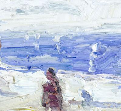 Klaus Fussmann, 'Figur vor Ostsee', 2018