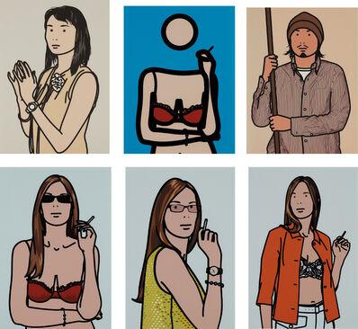 Julian Opie, 'Twenty Six Portraits', 2006