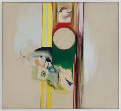 Miriam Schapiro, 'The Law', 1961