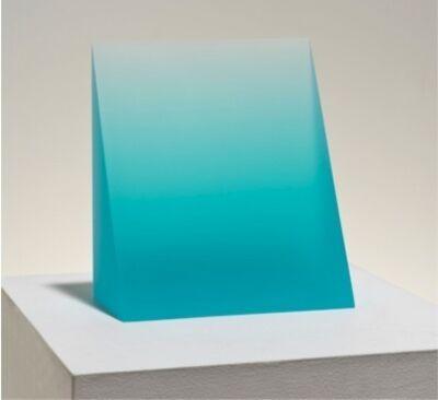 Peter Alexander, 'Turquoise Wedge ', 2015
