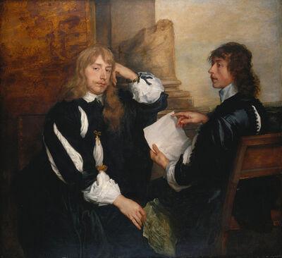 Anthony van Dyck, 'Thomas Killigrew and William, Lord Crofts', 1638
