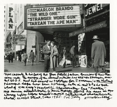 Allen Ginsberg, 'Neal Cassady and his love of that year Natalie Jackson, 1955', 1955