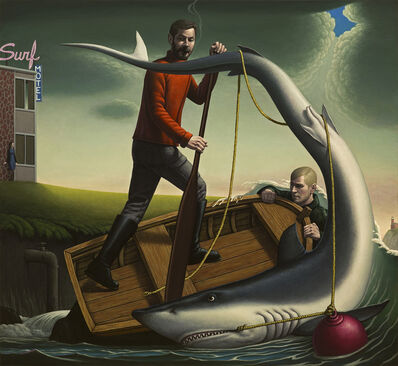 John Tarahteeff, 'Overboard', 2019