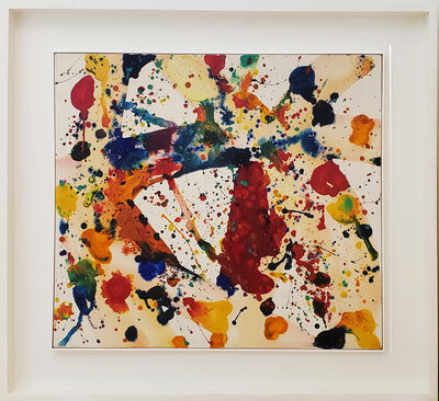 Sam Francis, 'Yellow Beam (SFP73-35) (SFF.612)', 1973