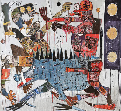 Blessing Ngobeni, 'The Pig is Fucked', 2018