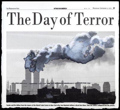 Soledad Salamé, 'Layered News, NY-9/11/2001', 2019