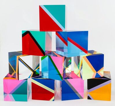 Vasa Velizar Mihich, 'Sculpture #2243 (10 Cubes)', 1983
