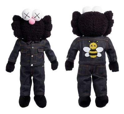 KAWS, 'BFF Dior Plush Doll (Black)', 2019