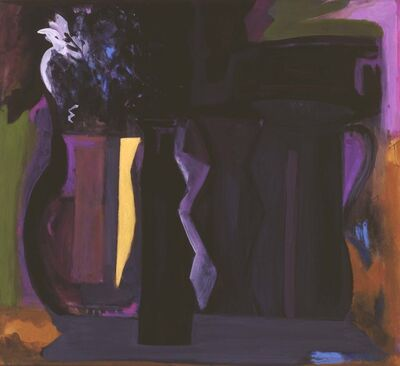 Roz Karol Ablow, 'Vases with Pitcher and Flowers', 2000