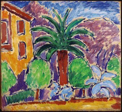 Alexej von Jawlensky, 'House with palm tree', 1914