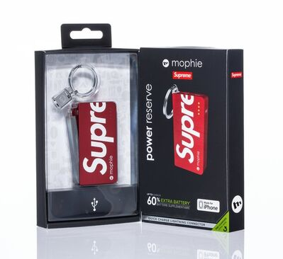 Supreme X Mophie, 'Mobile Power Reserve Keychain', 2015