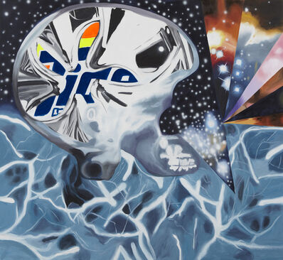 James Rosenquist, 'A DNA In The Multiverse', 2012