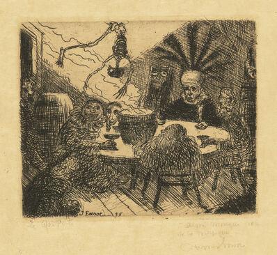 James Ensor, 'Le Roi Peste (King Pest)', 1895